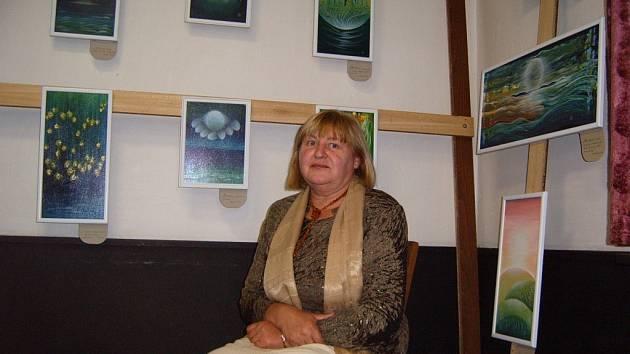Inspirace Zakarpatskou Ukrajinou. Náměty na své obrazy autorka čerpá především ze svého rodiště.
