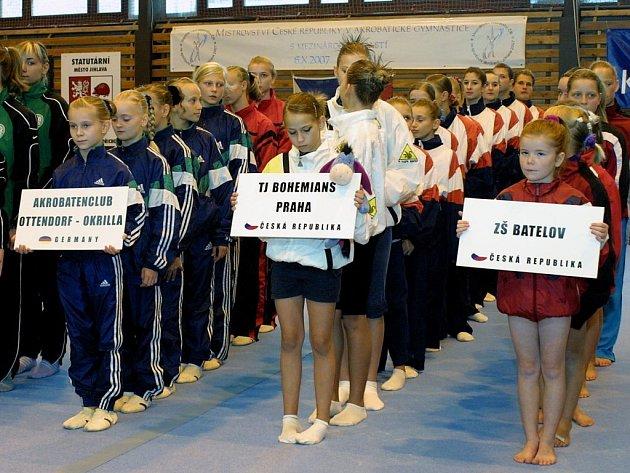 Na mezinárodním mistrovství České republiky pořádané bedřichovským Gloxi clubem se představily i výběry z Německa a Maďarska.