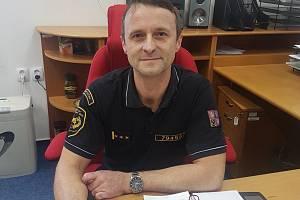 Nový ekonomický náměstek HZS Kraje Vysočina Pavel Holas.