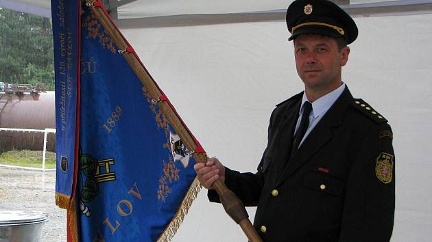 Dobrovolní hasiči v Pavlově slavili 120. výročí založení sboru.