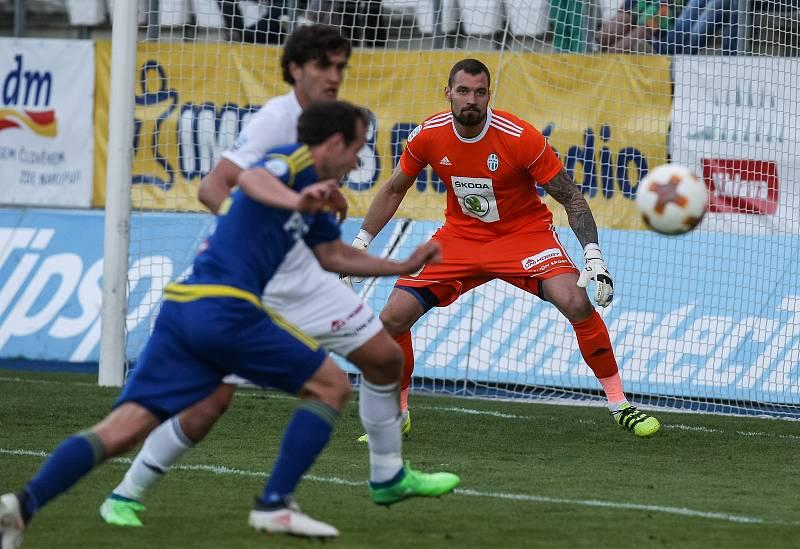 Utkání 26. kola první fotbalové ligy FC Vysočina Jihlava - FK Mladá Boleslav.