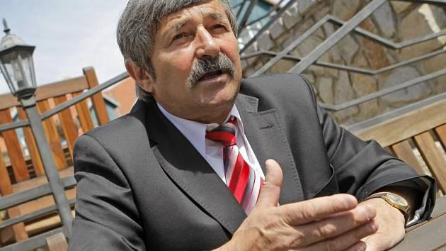 Předseda Krajského fotbalového svazu Vysočina Miroslav Vrzáček