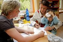 Zápisy do jihlavských mateřských škol se rozjely včera odpoledne, zájem o volná místa byl velký. Dnes se pokračuje. Fotografie je z MŠ Tylova v lokalitě Na Slunci.