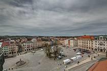Masarykovo náměstí čeká revitalizace, začne v horní části.