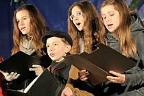 V Jihlavě se zpívaly koledy společně se sbory Gaudium a Radost z místní základní umělecké školy