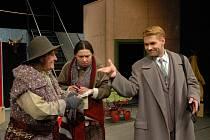 Opala je poklad - veselohra Horáckého divadla v Jihlavě bude již šestou premiérou v této sezóně.