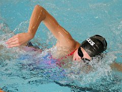 Vycházející hvězda. Tereza Horáková v Hradci Králové opět potvrdila, že je největším příslibem jihlavského plavání.