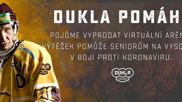 Dukla chce vyprodat virtuální stadion ve prospěch seniorů.