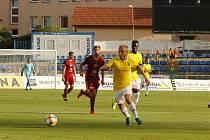 První letošní vzájemné utkání mezi Vysočinou a Duklou vyhráli Jihlavané nejtěsnějším poměrem 1:0.