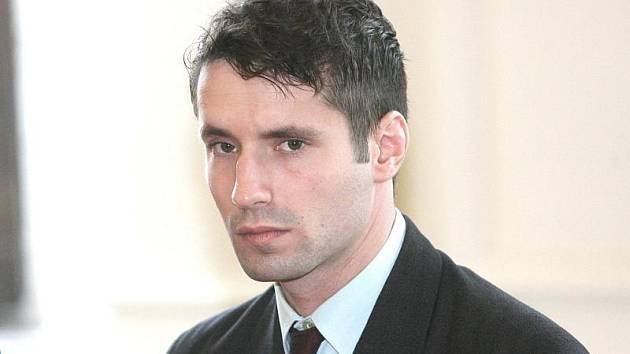 Střelec Martin Teplý u brněnského soudu.