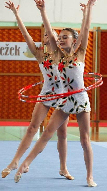 Závody v moderní gymnastice Jihlavský ježek