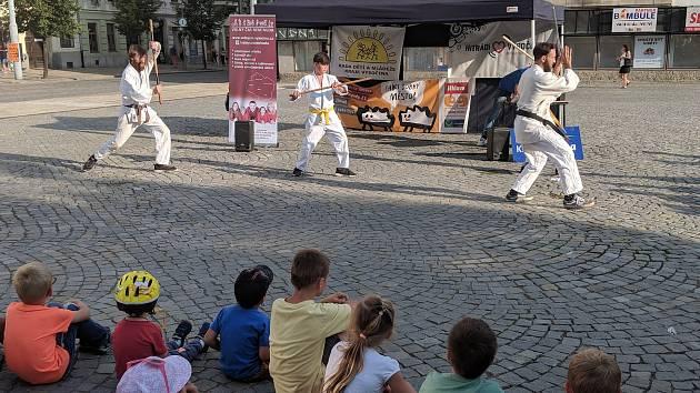Volnočasové aktivity předvedly spolky ve čtvrtek v Jihlavě.