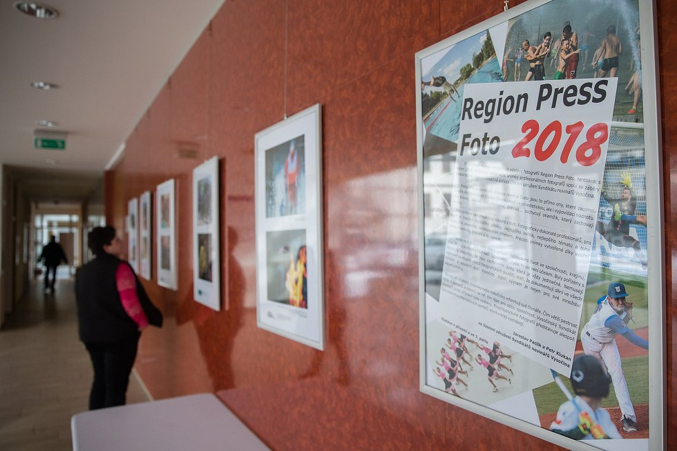 Výstava fotek Region Press Foto 2018.