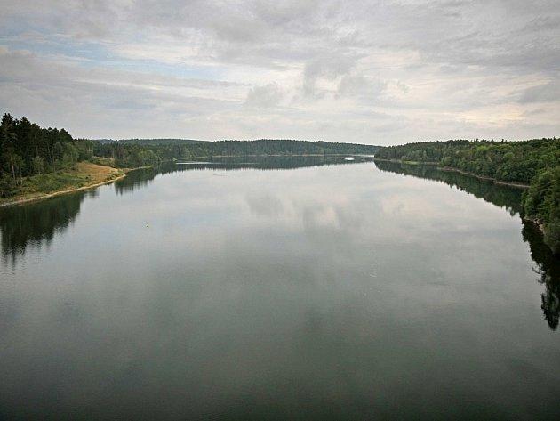 Přehradní nádrž Želivka-Švihov.