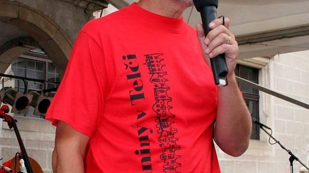 Hlavní pořadatel festivalu Prázdniny v Telči Milan Kolář.