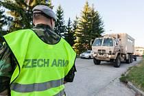 Američtí vojáci přespí v Rančířově na Jihlavsku. Ilustrační foto