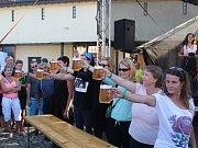 Festival v Telči přilákal pivní nadšence.