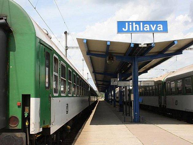 Jihlavské vlakové nádraží