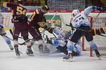 Šestý zápas finále hokejové Chance ligy mezi HC Dukla Jihlava a Rytíři Kladno.