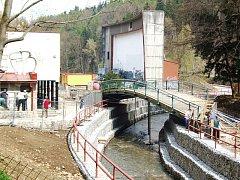 Úpravy parku Malý Heulos v Jihlavě i nadále pokračují. Hotovo by mělo být do konce roku.