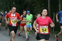 Tentokrát se Pohár Běžce Vysočiny konal na Pávově. Na programu byl odložený Jarní běh.