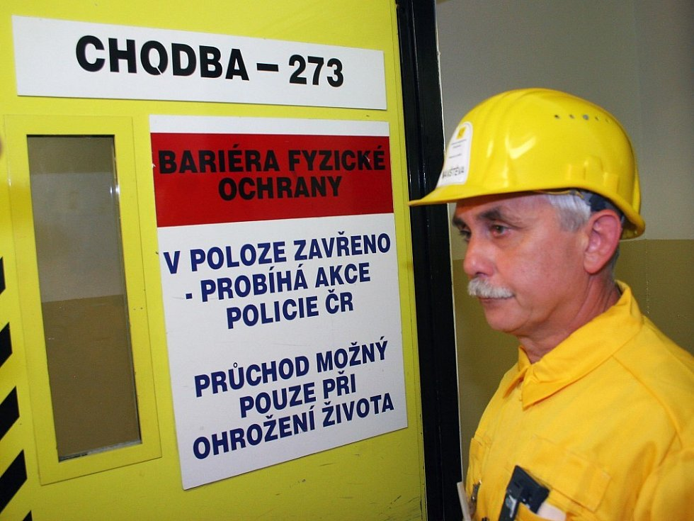 Elektrárnou provádí hlavní technolog provozu elektrárny František Prokop.