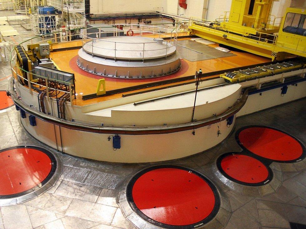 Reaktor jaderné elektrárny Dukovany.