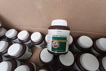 Celníci na Vysočině zajistili téměř 77 kilogramů Pseudoefedrinu.