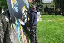 Graffiti session přilákalo do Jihlavy milovníky streetartu