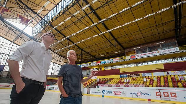 Jihlavský zimní stadion. Ilustrační foto