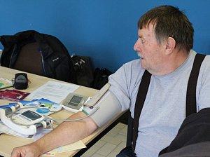 Den Zdraví se bude konat v modré chodbě, spojující interní a diagnostický pavilon nemocnice.