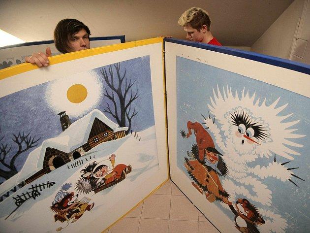 Pohádková expozice v jihlavské Bráně Matky Boží se dětem líbí.