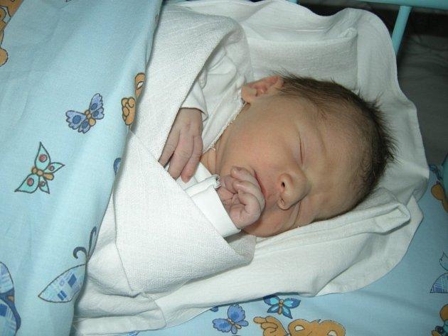 První miminko jihlavské porodnice.
