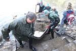Rybník Borovinka se lovil po dvaatřiceti letech
