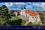 Nástěnný kalendář Kraje Vysočina pro rok 2021.