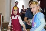 Děti si karneval ve Zhoři užily.