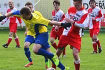 Součástí Mankova sportovního odpoledne na hřišti ve Stáji bude nakonec přípravný duel Sapeli Polná - Jihlava U18.
