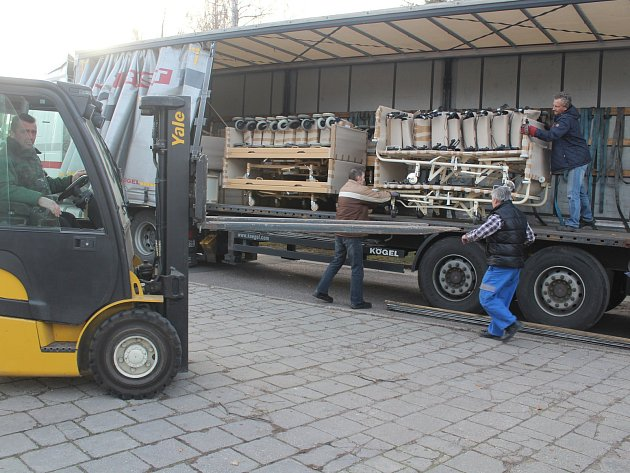 Třebíčská charita vypravuje na Ukrajinu kamion s humanitární pomocí