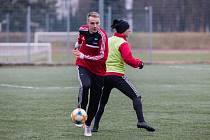 Trénink FC Vysočina Jihlava.
