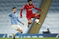 Ve šlágru anglické ligy se mezi Manchesterem City a Liverpoolem zrodila remíza.