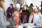 I v Lukách nad Jihlavou se letos konala Tříkrálová sbírka podvacáté.