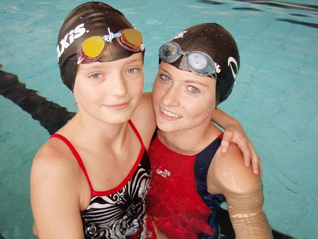 Natálie Kračmárová a Petra Špejtková se ověnčily medailemi.