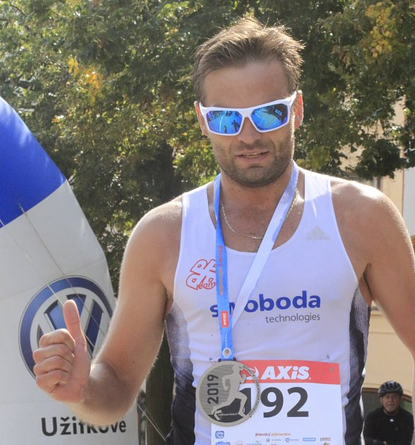 VÍTĚZ. Jihlavský půlmaraton 2019ovládl Jakub Exner, stejně tak se stal icelkovým vítězem Poháru Běžce Vysočiny uplynulé sezony.