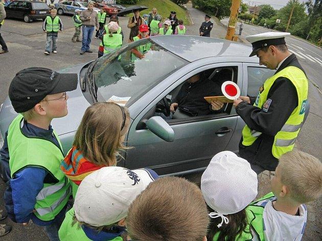 Čtvrtý ročník dopravně-preventivní akce Jezdíme s úsměvem v Jihlavě