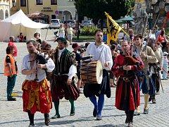 Historické slavnosti se staly nedílnou součástí renesanční Telče. Letos potrvají od čtvrtka až do soboty.