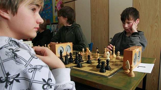 Královská hra v podání mladých šachystů