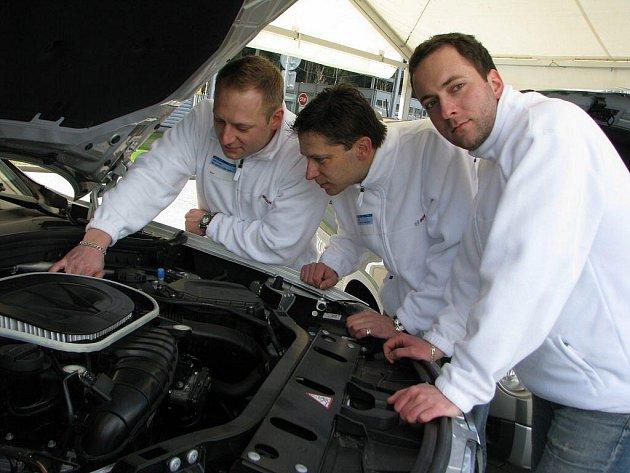 Bosch Diesel v sobotu lákal o do zaměstnání na 120 studentů českých technických vysokých škol.