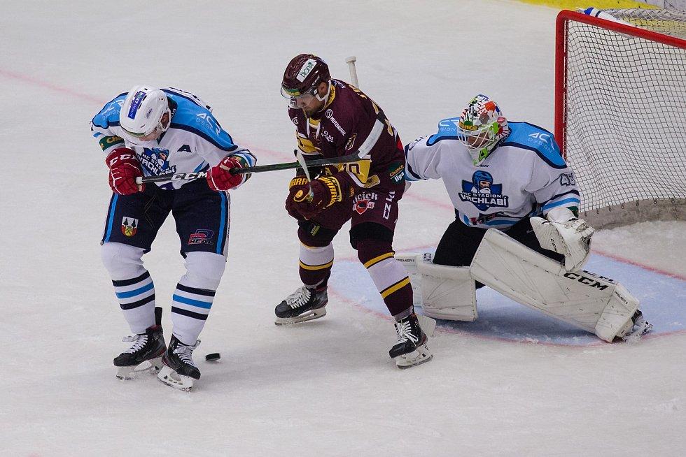 Utkání sedmého kola Chance ligy mezi Jihlavou a Vrchlabím skončilo výhrou domácího celku 5:3.