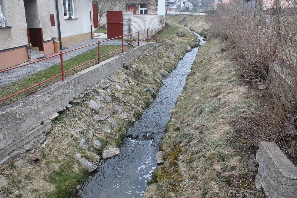 Městys Kamenice na Jihlavsku.