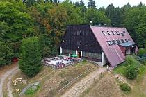Turistická chata na Čeřínku.